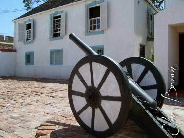 Cannon at Port Royal (the setting of Pirates of the Caribbean).