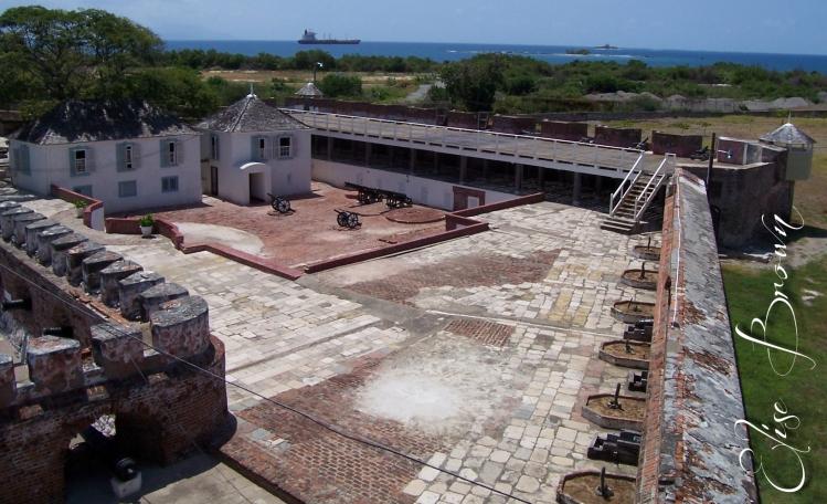 A bird's-eye view of Port Royal.
