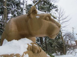 The Penn State Nittany Lion.