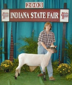 Missy at the 2003 Indiana State Fair.
