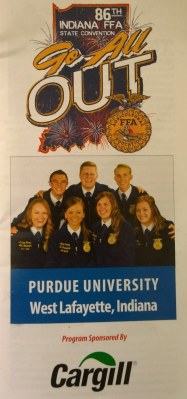 This year's state convention program.