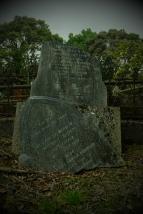 A Dunedin gravestone.