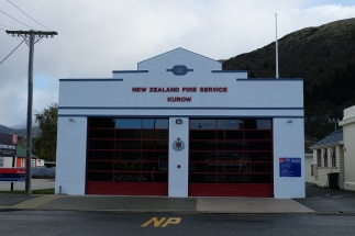 The New Zealand Fire Service, Kurow.
