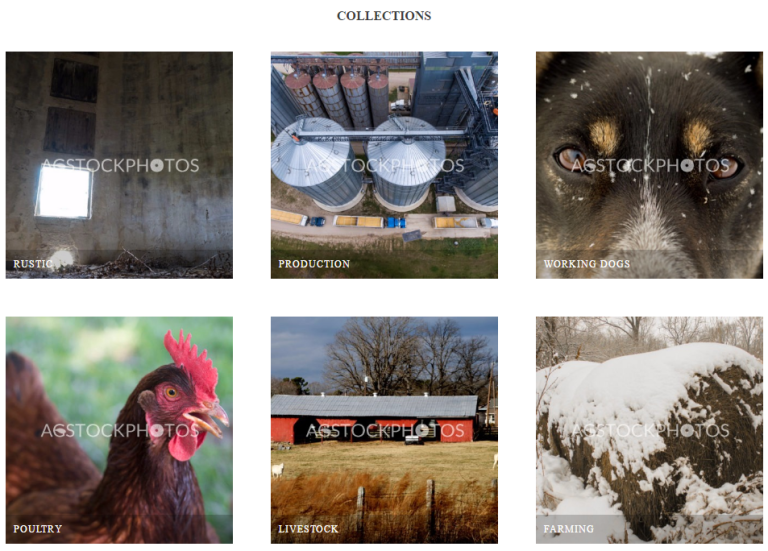 Home Page of AgStockPhotos